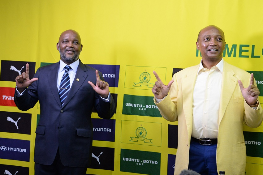 Sundowns coach Mosimane on local' global offers: 'Stay where you are loved'