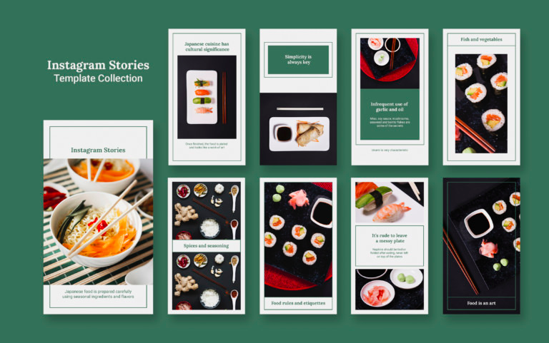 Restaurant Instagram Stories Templates