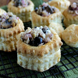 Californian Puff Pastry Appetizer.