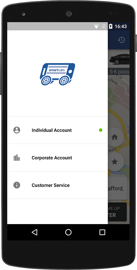 Smart Cars Taxis- screenshot