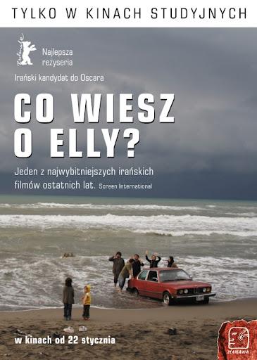Polski plakat filmu 'Co Wiesz O Elly?'