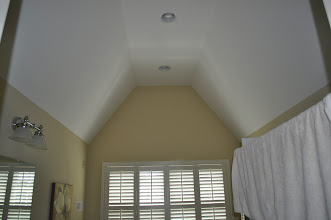 Photo: (Before) Hamilton's Master Bathroom ceiling Collegeville, PA