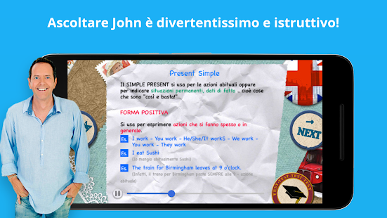 English Now GRATIS - Impara con John Peter Sloan - náhled