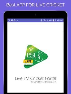 PSL Live Cricket Apk | GEO Sports Live, PTV Sports Live 5