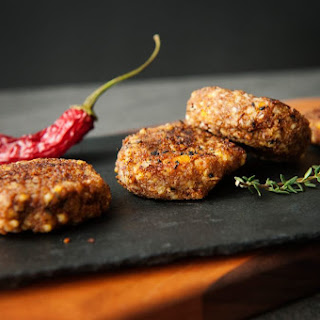 Teff and Vegetable Croquettes.