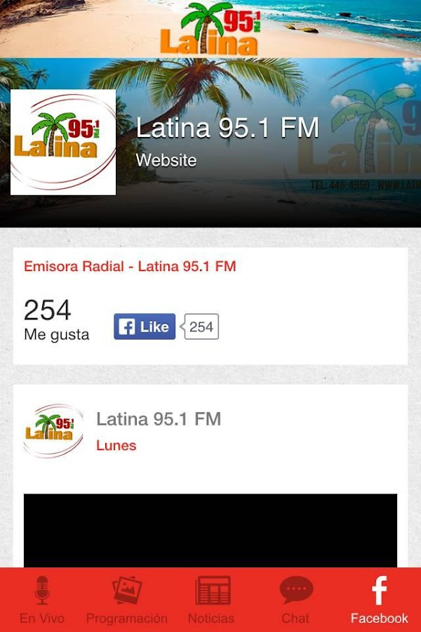 Latina 95.1- screenshot