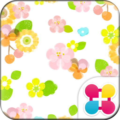 Flower Flow Wallpaper Theme Icon