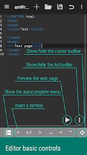 anWriter free HTML editor 3