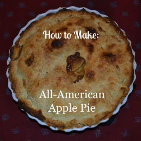 Old-Fashioned All-American Apple Pie Recept | Yummly