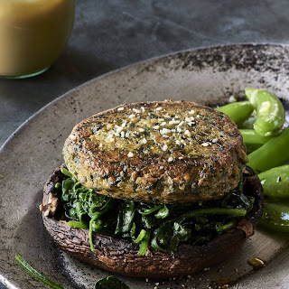 Super Spinach and Chickpea Burgers