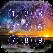 Starry Sky Keypad Lock Screen APK for Bluestacks