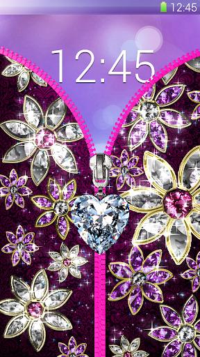 Diamond lock screen. ss2