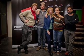 Photo: Le Videophage y Vicky Calavia