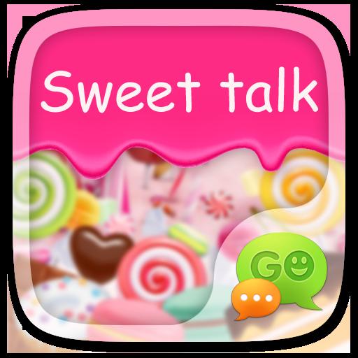 GO SMS SWEET TALK THEME