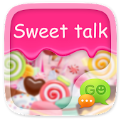 GO SMS SWEET TALK THEME
