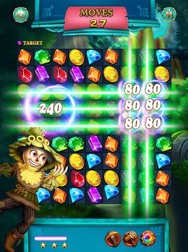 Jewels Star: OZ adventure apkpoly screenshots 3