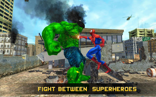 Incredible Monster vs Super Spiderhero City Battle for PC