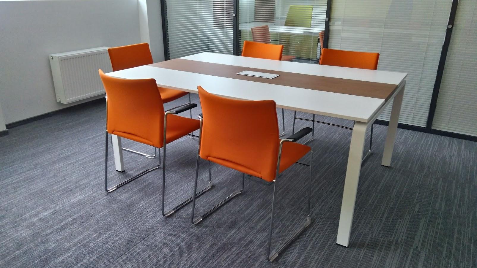 Конференц стол - Модульная офисная мебель, Металлические каркасы столов, Мебельные опоры ✆ 0679245444