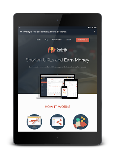 Dwindly.io - Earn Money By Sharing Links! 1.1 screenshots 10