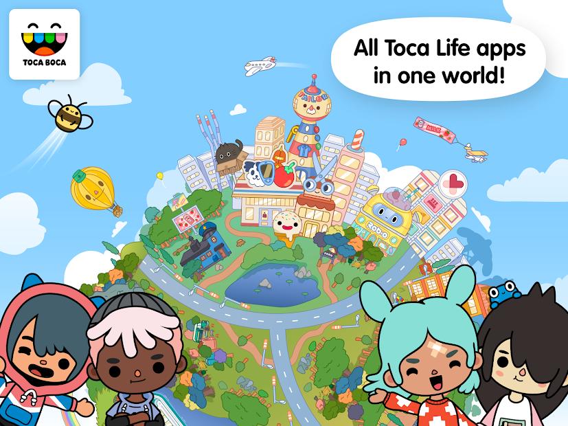 Toca Life: World Android App Screenshot