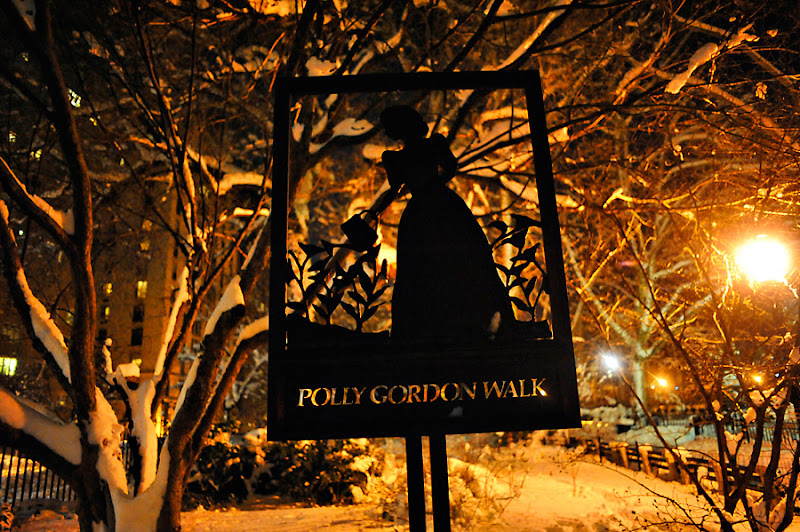 Polly Gordon Walk at Carl Schurz Park. Photo by Eugene Gorny