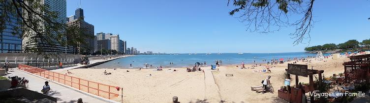 Navy pier beach