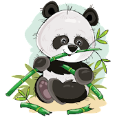 Cute Panda Sticker Pack - WAStickerApps New