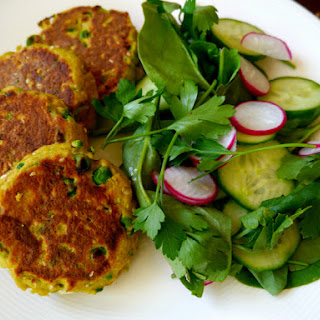 Simple Thai Salmon Cakes