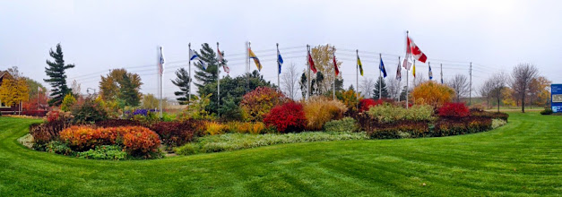Photo: A garden should never have a 'down time' - each season should be equally beautiful! Our Millennium Garden in Fall.