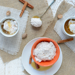 Pumpkin Spice Coconut Whipped Cream