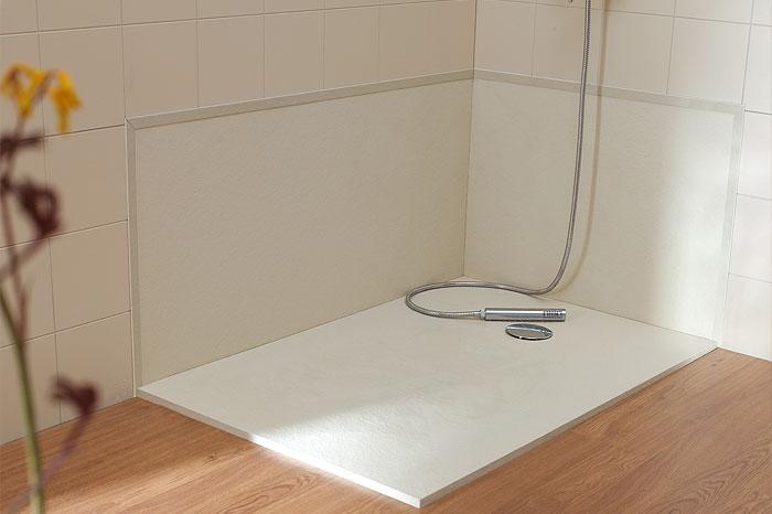 Fiora silex piatto doccia white 80x140 lungh tagliabile ebay for Piatto doccia fiora