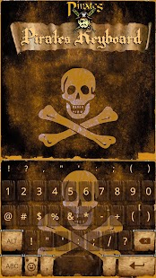 Pirates Skull InstaKeyboard - náhled