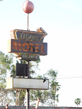 Photo: Old motel -- now a junk yard