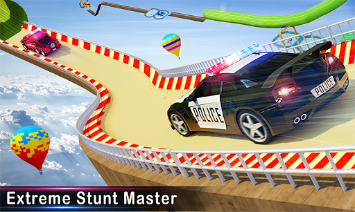 Police Ramp Car Stunts GT Racing Car Stunts Game 1.3.0 screenshots 2