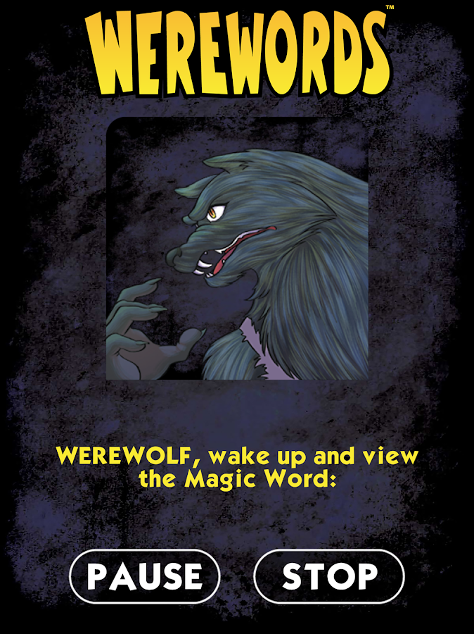 Werewords- screenshot
