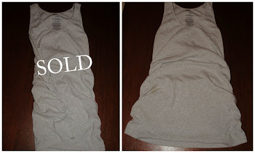 Photo: Side Ruched Old Navy Maternity Tank in Grey. Immaculate and Like New. XL $3