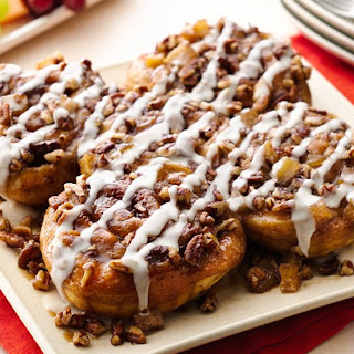 Caramel-Apple Sticky Buns