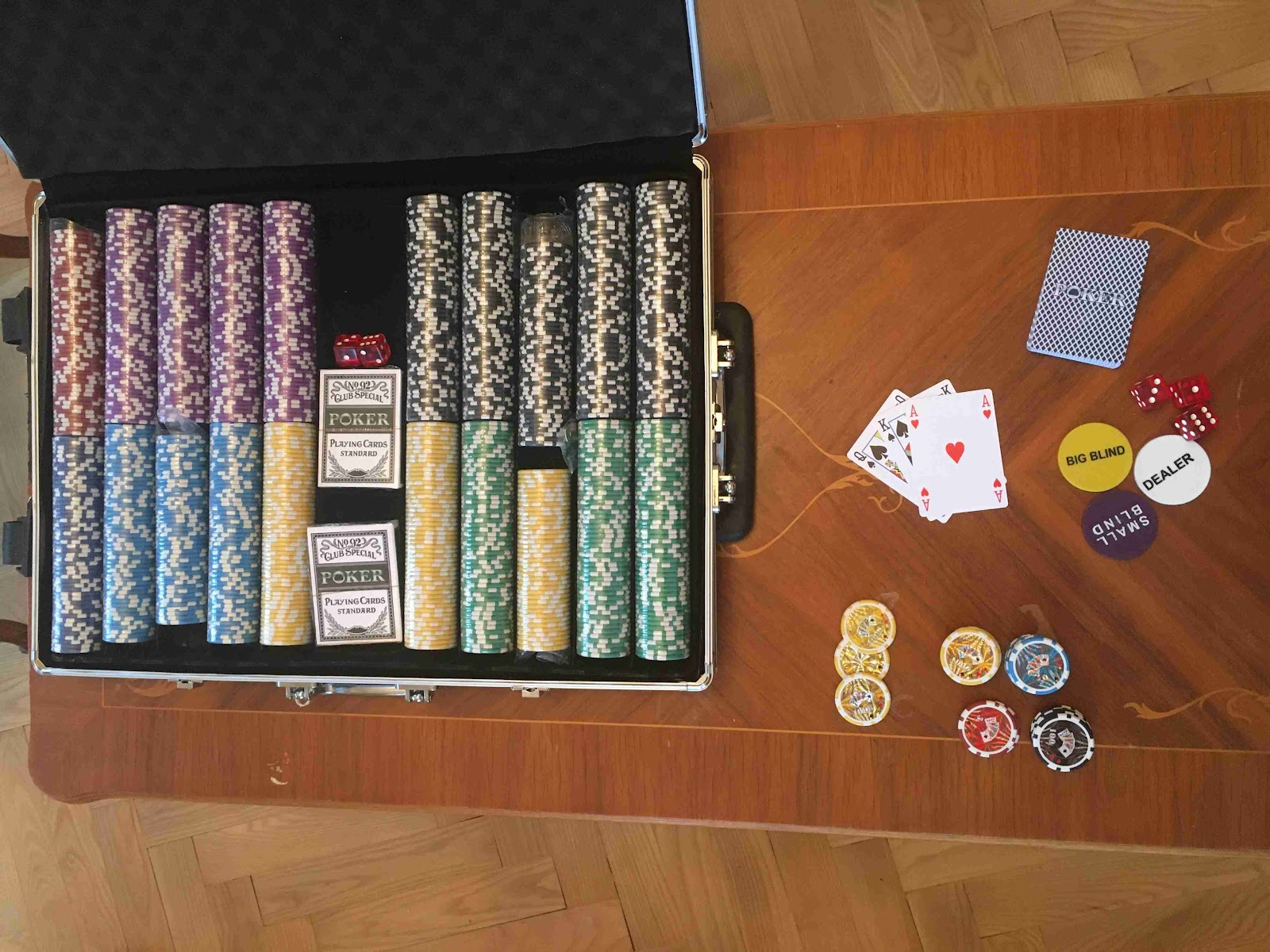 Dilego Poker set 1 000 žetonů OCEAN TROLLEY