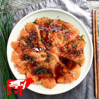 Sesame Soy Salmon Carpaccio Recipe