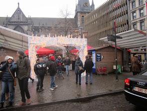 Photo: verlaten de kerstmarkt