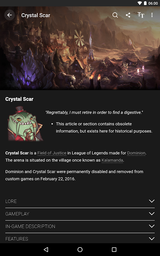 Wikia: League of Legends – Screenshot