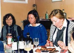 Photo: Сороковины ВПН. Галина Некрасова, Марина Кох, Наталья Круглая, Ванв, 12.10.1987