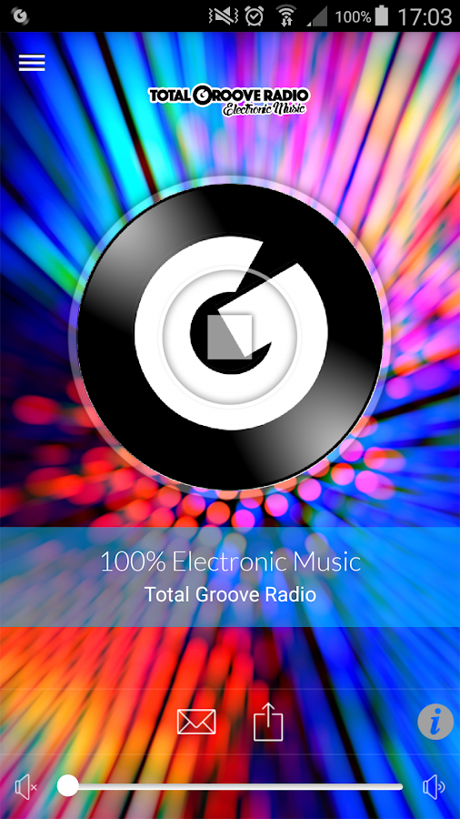 Total GrOOve Radio- screenshot