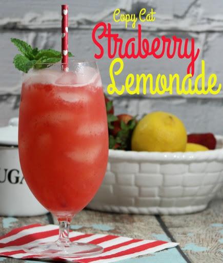 Refreshing Strawberry Lemonade!