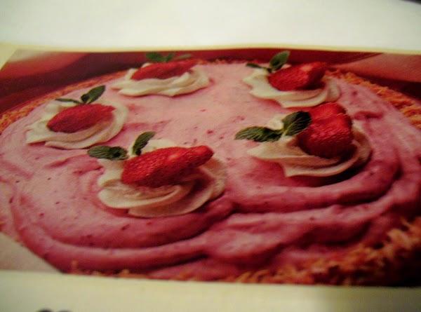 Frozen Fluffy Strawberry Pie By Freda Recipe