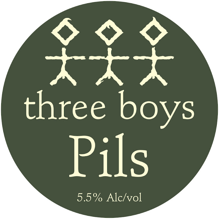 Logo of Three Boys Pils