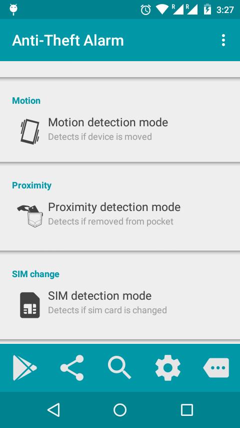 Anti-Theft Alarm- screenshot