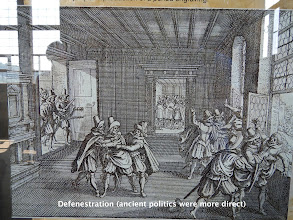 Photo: Defenestration (ancient politics were more direct)