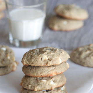 White Chip Blueberry Cream Cheese Peanut Butter Cookies.