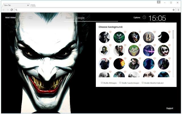 Joker Wallpaper Hd New Tab Themes Chrome Web Store